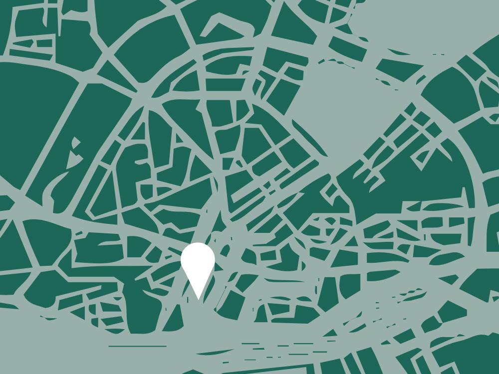 Hamburg Map Al Wazzan - vector graphics